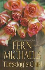 Tuesday's Child by Fern Michael - Large Print - Hardcover