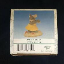 """Charming Tails """"What's Shakn� Figurine Collection Division Fitz & Floyd #82/118"""