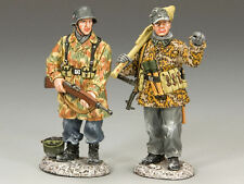 German Military Personnel King & Country Toy Soldiers
