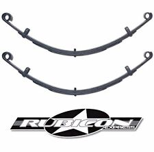 """Rubicon Express Extreme Duty Front Leaf Spring Set 4.5"""" Lift 1987-1995 Jeep YJ"""