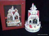 Lenox Holiday Dimension Santa's Bake Shop Musical Centerpiece NIB
