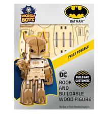 Batman - Incredibots - Wood Model - Brand New - Incredibuilds 84598