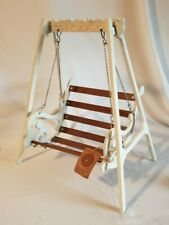 Boyd's Bears Accessories Wrought Iron Wood Swing Nwt Doll Toy Collectibles