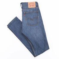 LEVI'S 510 Blue Denim Slim Skinny Jeans Mens W30 L34