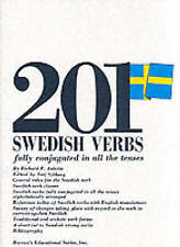 NEW 201 Swedish Verbs: Fully Conjugated in All the Tenses (201 Verbs Series)