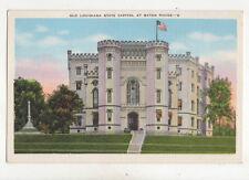 Old Louisiana State Capitol Baton Rouge USA Vintage Postcard US016