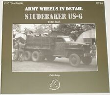 STUDEBAKER US6 VEHICLE American Army Transport Truck WW2 Second World War US-6