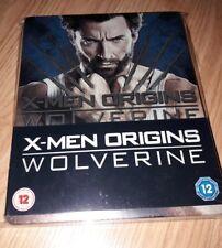 X-MEN ORIGINS: WOLVERINE BLU-RAY STEELBOOK LIMITED EDITION UK ESPAÑOL REGION A/B