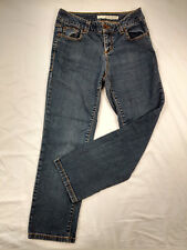 DKNY Womens SOHO Jeans Straight Cut Medium Wash Size 4