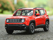 Maisto 1:24 Jeep Renegade Diecast Metal Model Car Vehicles Mint in Box
