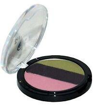 Rimmel Trio Eyeshadow,Three-Sum, Shade - 100 Naughty - Pink, Purple + Green, New