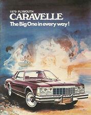 1979 Plymouth CARAVELLE Brochure:STATION WAGON,SEDAN,