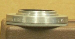 Kodak Series VI No. 29, 29.5mm Screw-In Adapter with a Retaining Ring