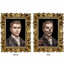 Halloween Lenticular Zombie Portrait Cutout Wall Party Decorations Supplies