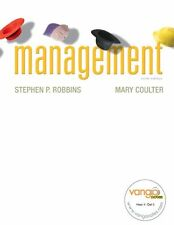 Management, 9th Edition (Book with Rolls Access Code) by Stephen P. Robbins, Mar