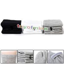 1 Pair Gray  Unisex japanischer Kimono-Flip-Flop-Split Toe Tabi Socken