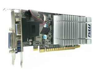 MSI N8400GS - PCIe 2.0 Graphics Card - VGA/DVI