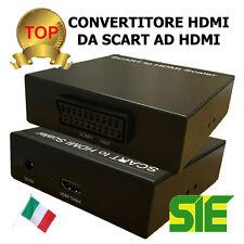 CONVERTITORE da SCART a HDMI 1280X720 PROFESSIONALE 42/12390 4212390