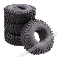 "120mm 1.9"" Rubber Tires For RC 1/10 Truck Axial D90 SCX10 Rock Crawler Wheels"