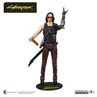 "McFarlane Toys Cyberpunk 2077 Johnny Silverhand Keanu Reeves 7"" Action Figurure"