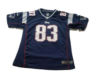 Nike NFL New England Patriots Wes Welker Football Jersey Youth XLarge