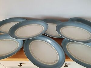 """Denby /Langley Tableware Castile 12.5"""" Oval Serving Dish/Plate"""