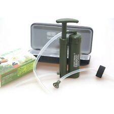 2000L Water Filter Purifier Soldier Emergency Survival Hiking Camping Outdoor