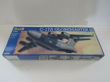 MODEL KIT MILITARY PLANE AIRPLANE 1:144 SCALE REVELL C 17A GLOBEMASTER 3 USAF