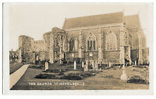 The Church, Winchelsea Real Photo PPC, Unposted by Staffords