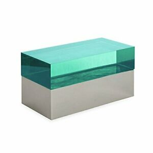 Jonathan Adler - Monaco Rectangular Box - Green & Polished Nickel