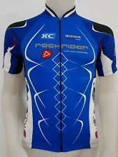 MAGLIA SHIRT CICLISMO ROCHRIDER CYCLE TAG.M CYCLING TEAM BIKE ITALY BICI MB306