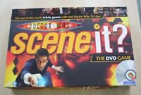 Doctor Who Scene It DVD Family Tivia Board Game David Tennant 100% Complete VGC