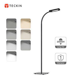 Floor Lamp, Lamps for Living Room TECKIN Reading Lamp Dimmable Adjustable Lamp 4