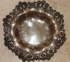 STUNNING VICTORIAN STERLING REPOUSSÉ BOWL 477 GRAMS/15.34 TROY