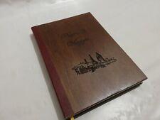 Tagebuch Von Reise Gefertigt Hand IN Holz Brauch Buch Von Reisen