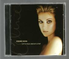 CELINE DION  * LET'S TALK ABOUT LOVE *  -  CD