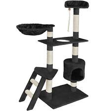 Arbre à chat griffoir 153cm de haut beige gris brun noir bordeaux