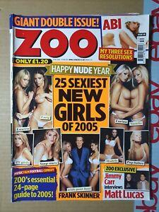 Zoo Magazine 31 December 2004 13 January 2005 (389)(Rare) Abi Titmuss