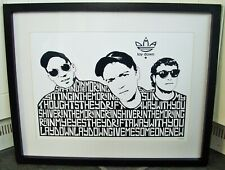 More details for dma's/lay down dmas a3 size art print/poster