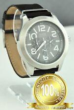 Nieuw Horloge GUESS Schwarz Leer Herren Classic NeUf U96020G2