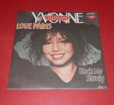 Yvonne Elliman -- Love pains / Rock me slowly -- Single / POP