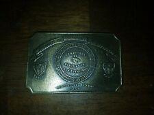 Tiffany Repro Committee of Vigilance Vigilanty Brass Belt Buckle