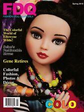 Fashion Doll Quarterly FDQ Magazine Spring 2010 Ellowyne Seine Jamieshow Gene