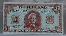 Nederland - Netherlands 1 gulden 1945 Wilhelmina II NVMH 06-1c