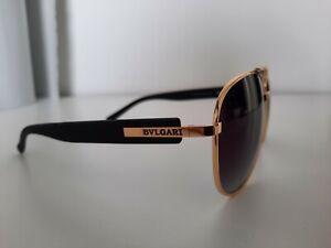 Stunning 🤎 Gold BVLGARI Unisex Sunglasses