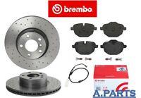BREMBO XTRA BREMSENSATZ GELOCHT WK 330 mm HINTEN BMW X3 X4 F25 F26 PERFORMANCE