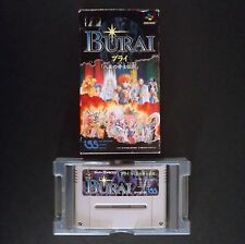 BURAI HACHIGYOKU NO YUSHI DENSETSU Nintendo Super Famicom NTSC JAPAN・❀・RPG SFC