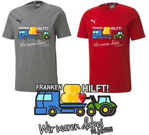Franken Hilft! Wir waren dabei 24. Juli 2021 Shirt Polo