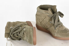 Baskets BOBBY Taupe Isabel Marant, Taille 38