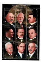 Grenadines 1995 - 1771 - Nobel Prize  - Sheet of nine  - MNH